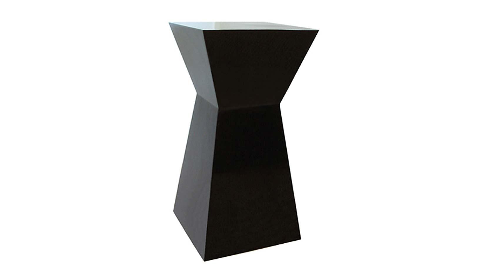 koi lacquer pedestal table