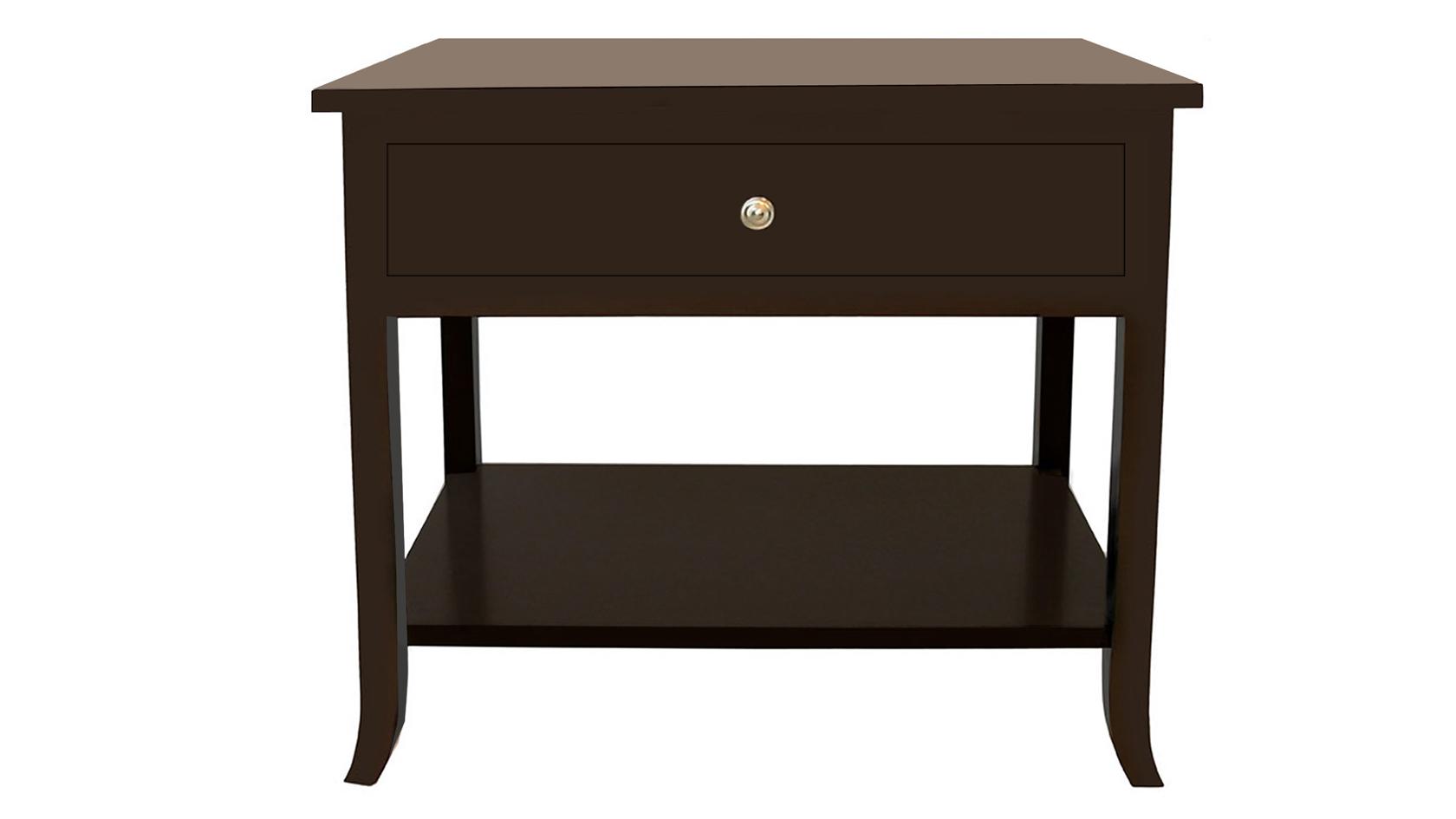 carlisle rectangular bedside table