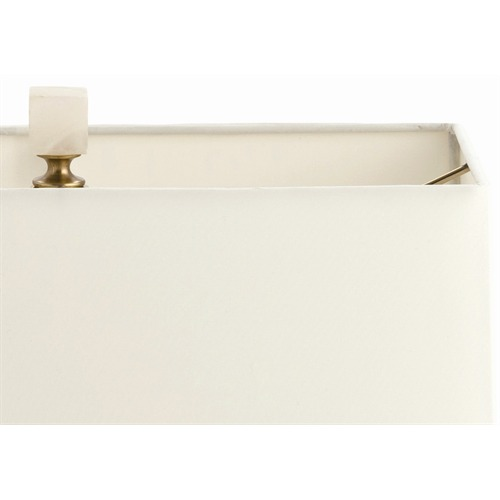 Mondrian Marble & Brass Lamp