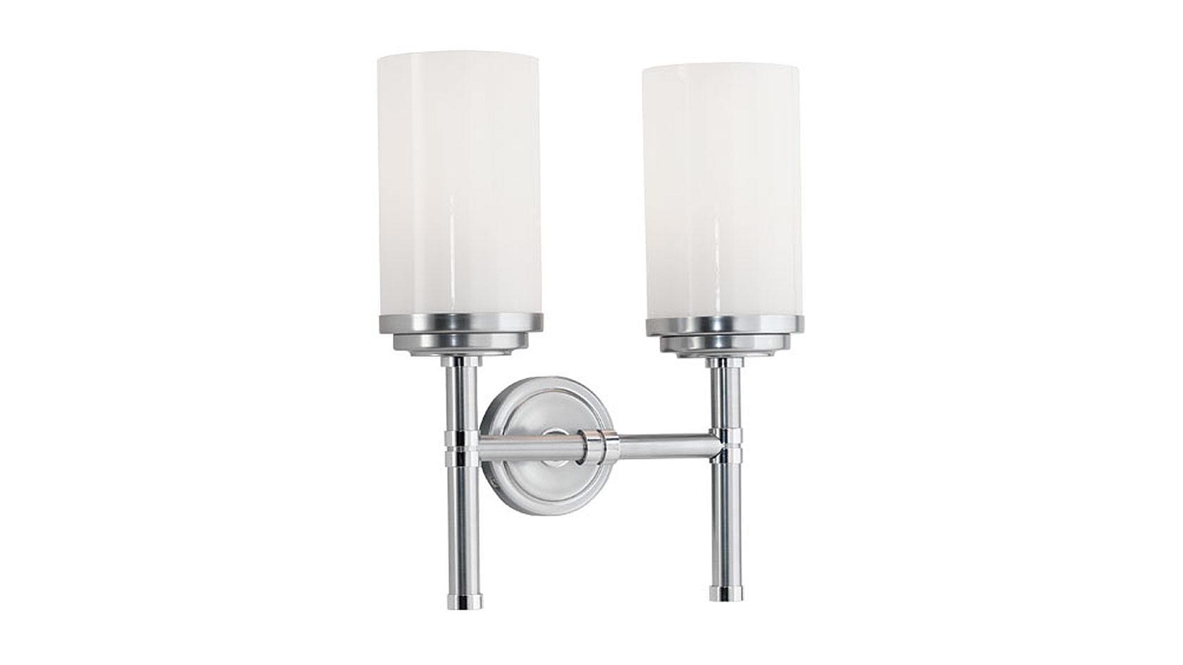 Art Deco Double Torch Sconce