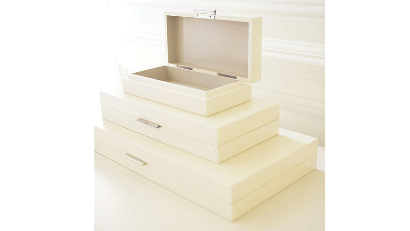 Blanco Flat Boxes