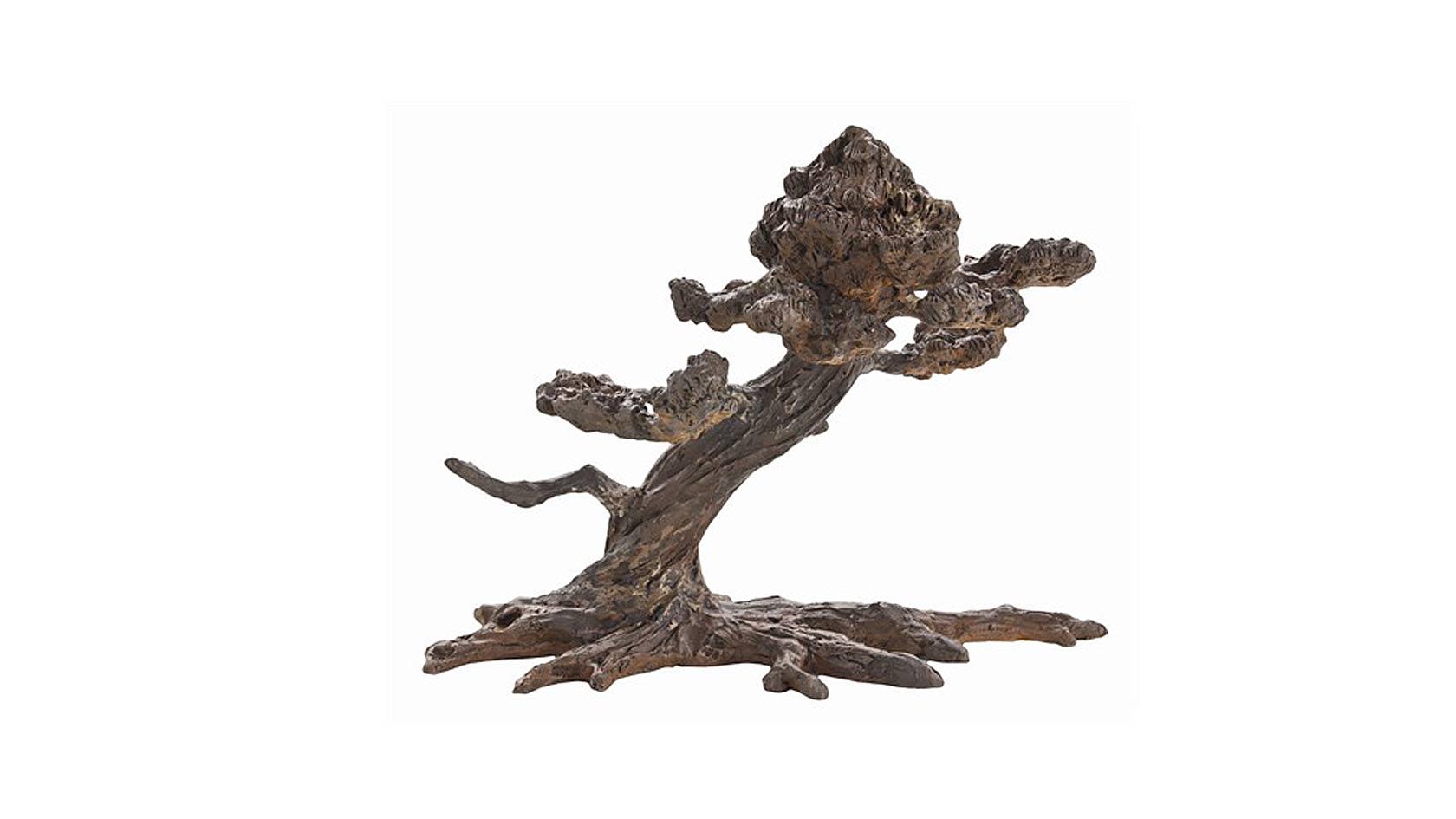 Bonsai Cast Iron Sculpture