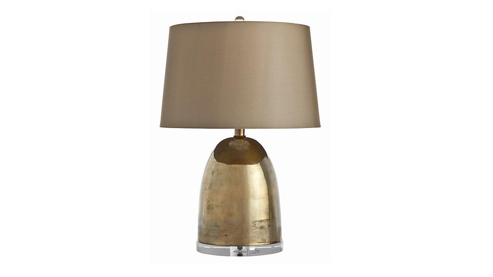 Brass Bullet Lamp