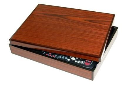 Exotic Veneer Remote Control Box