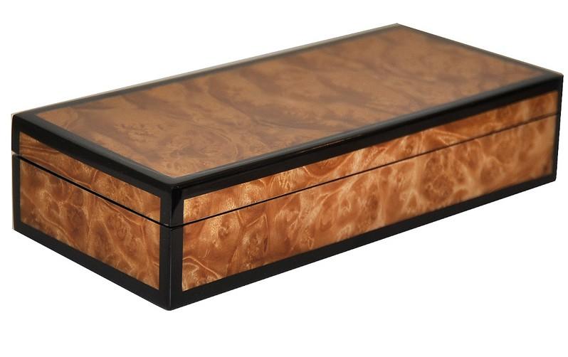 Exotic Veneer Pencil Box