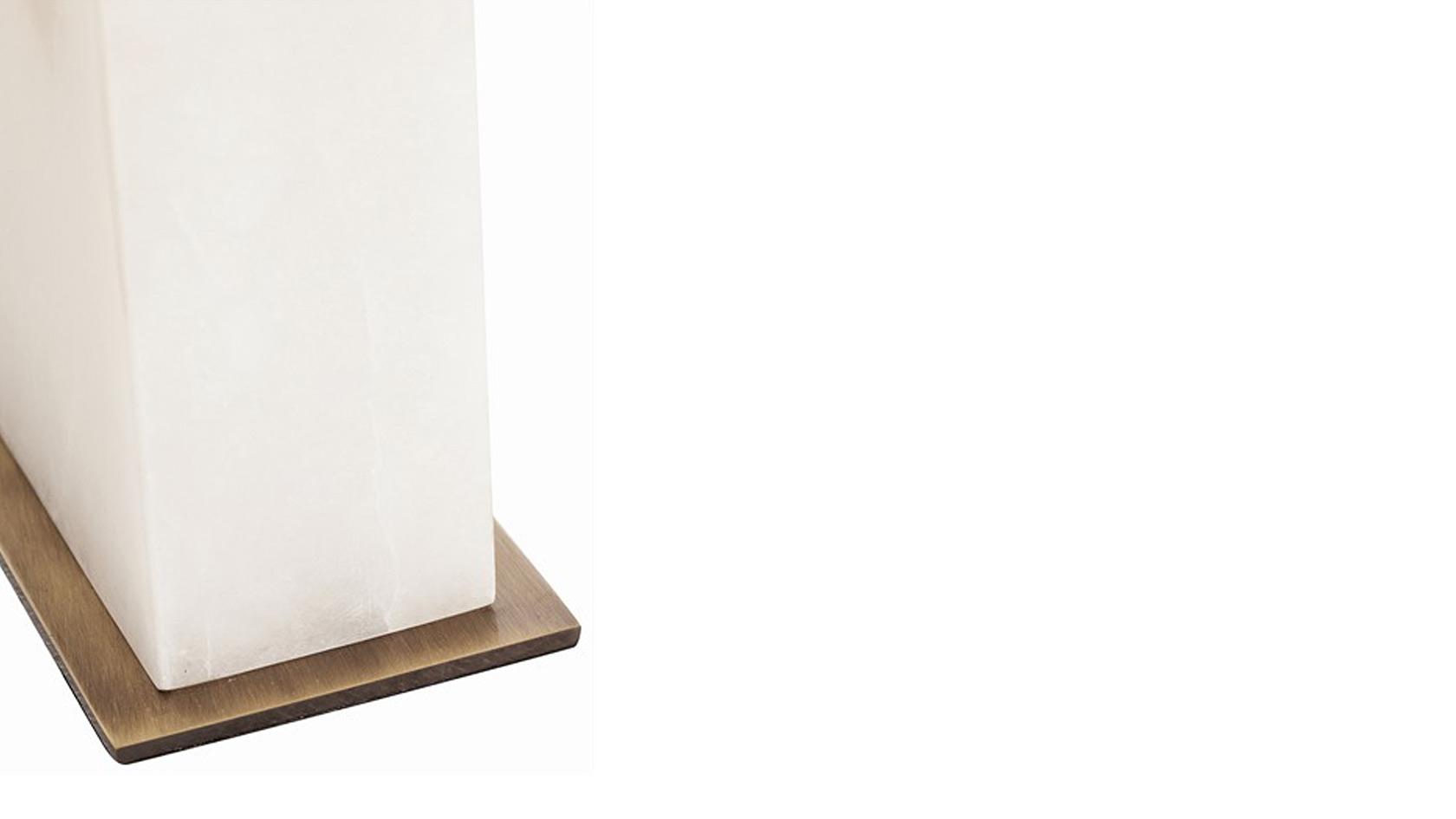 Mondrian Marble Lamp