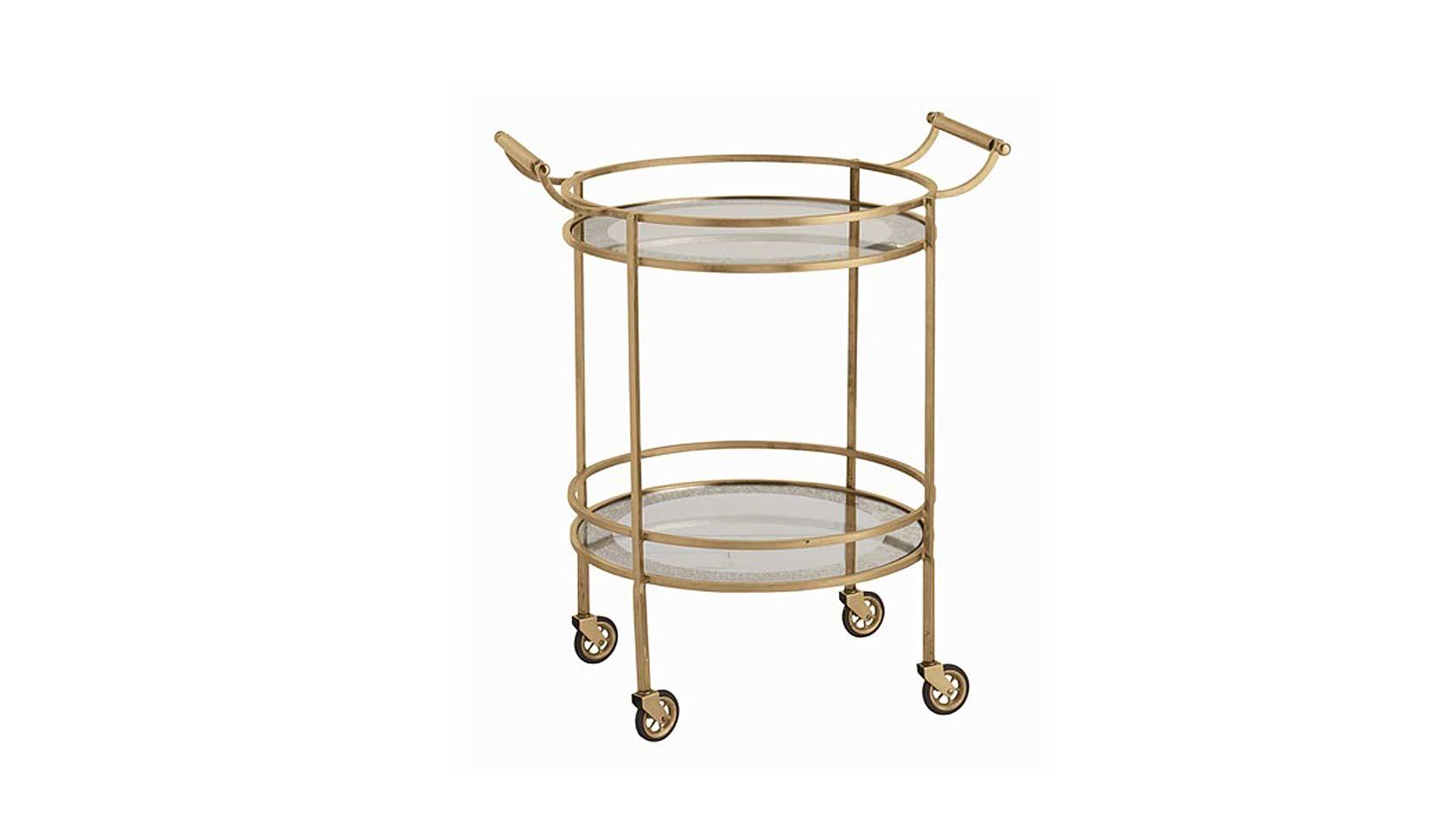 Montreaux Round Bar Cart