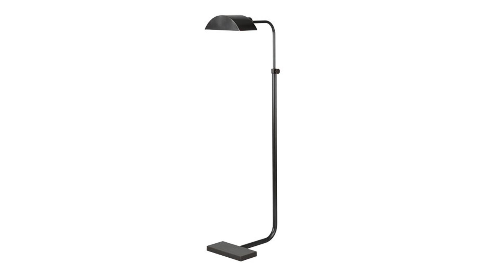 Standing Demi-Lune Task Lamp