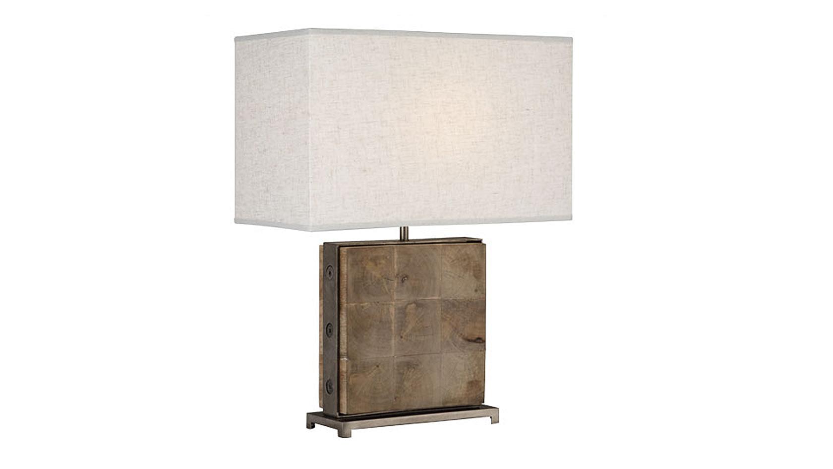 Mango Wood Table Lamp