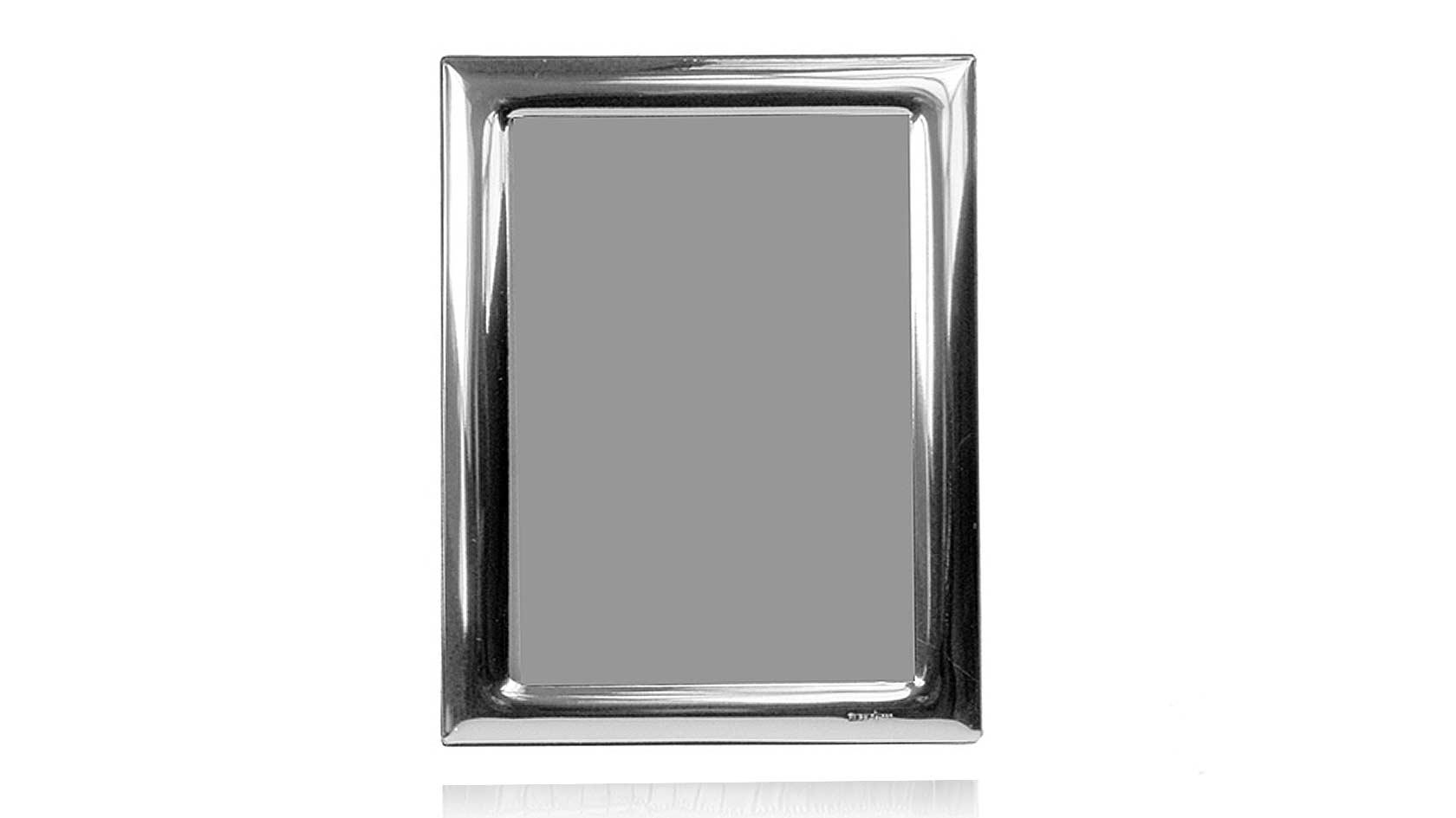 Wide Border Sterling Overlay Frame