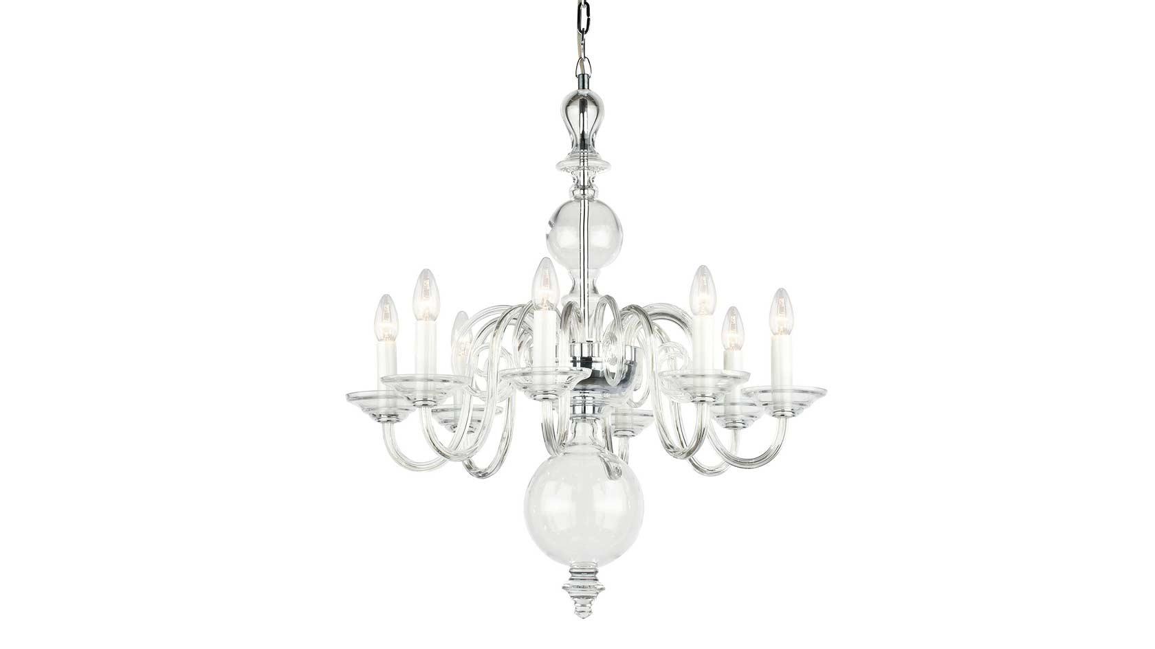 Plush Home_tulip-8-arm-chandelier_Crystal