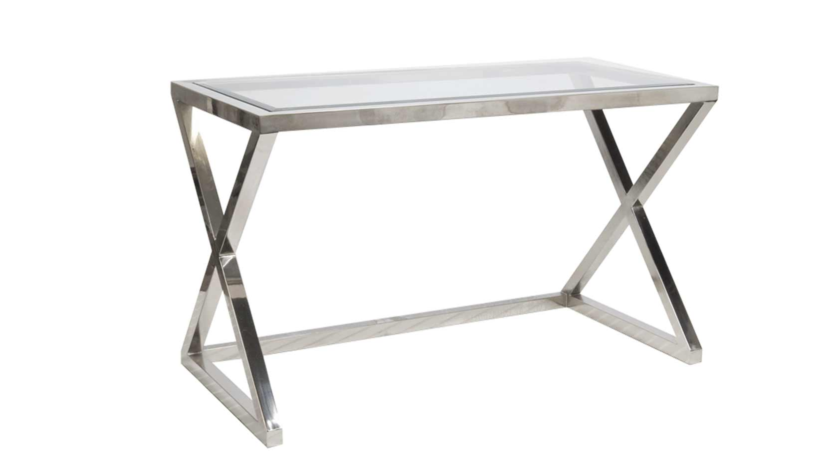 X Metal Desk/Console