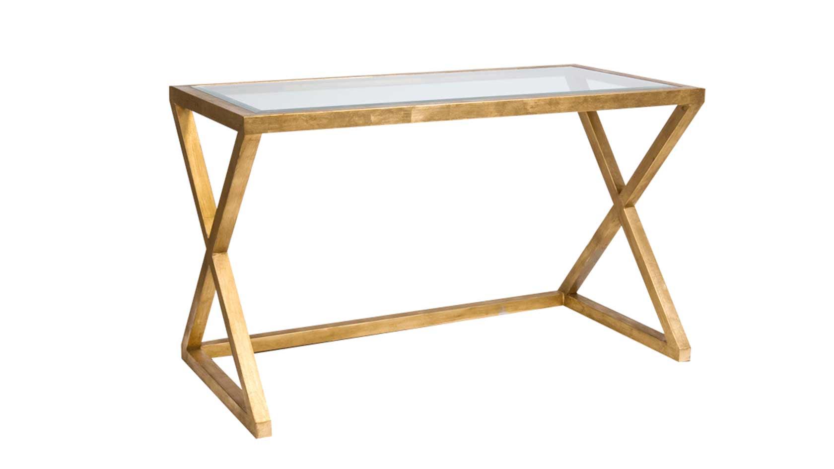 X-Metal-Desk-Console-Gld