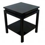 Ming Lacquered End Table
