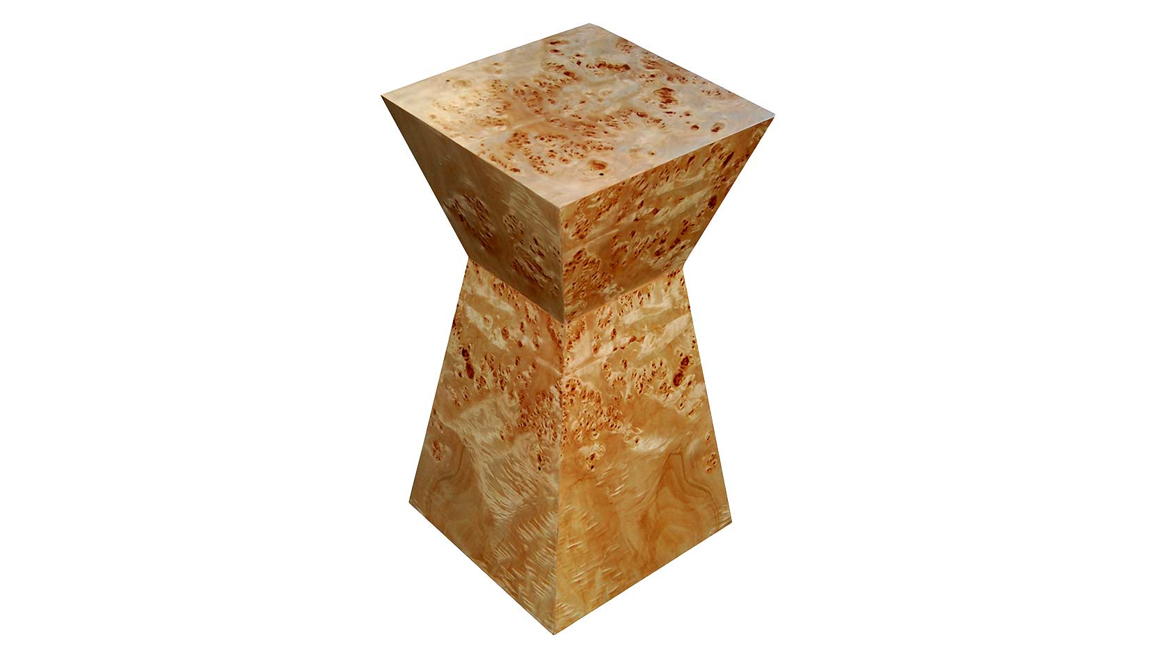 koi pedestal in exotic veneer