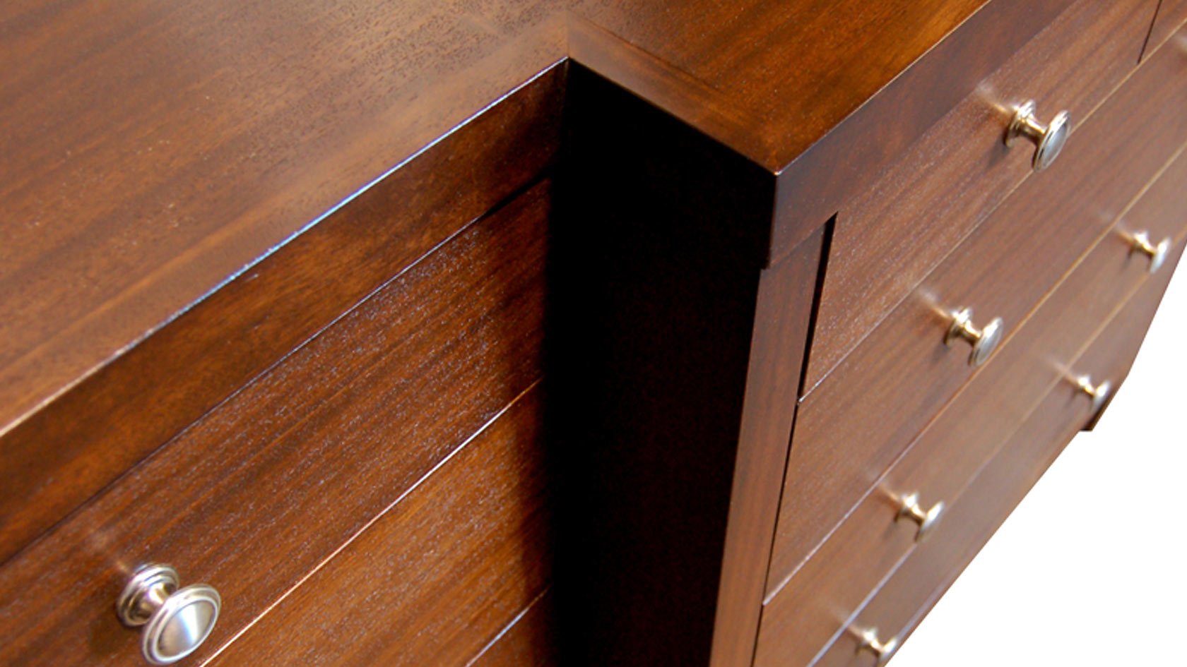carlisle breakfront chest of drawers