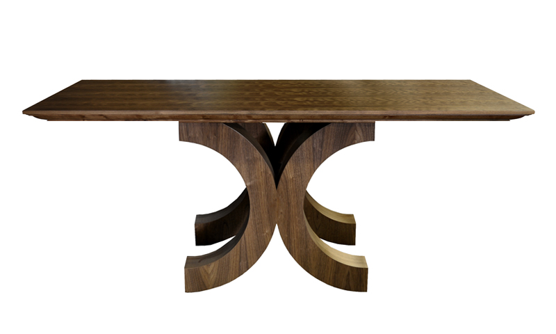 PARK AVE CONSOLE IN WALNUT