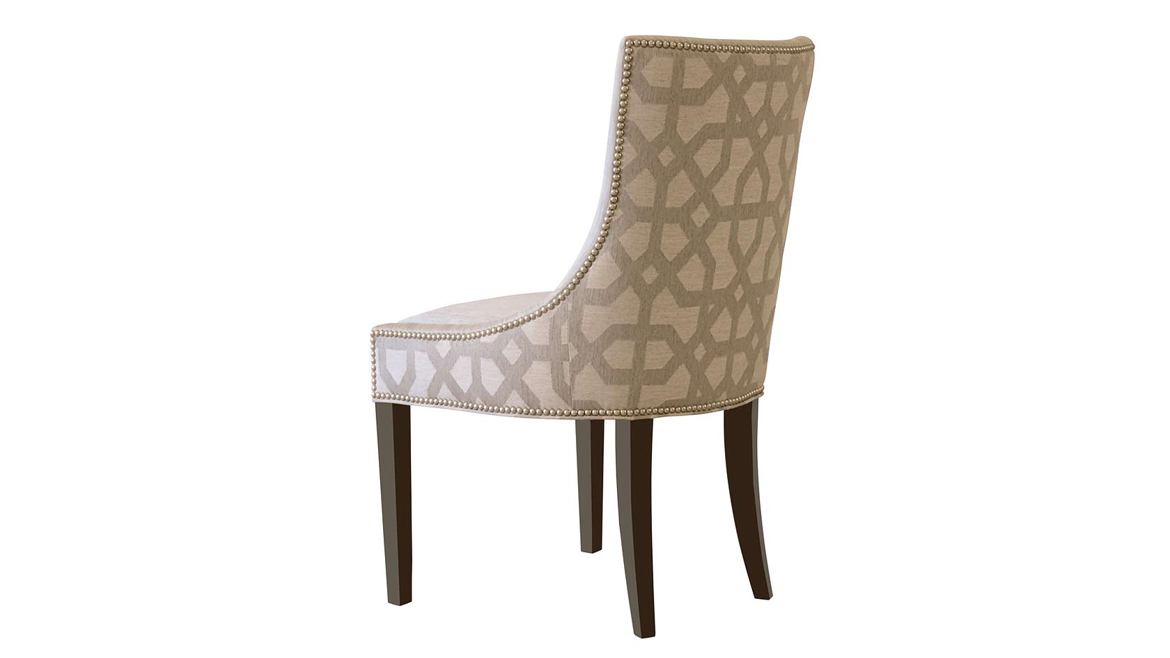 Plush Home park avenue dining chair : Park Ave Chair Rear Angle from plushhome.com size 1680 x 945 jpeg 48kB