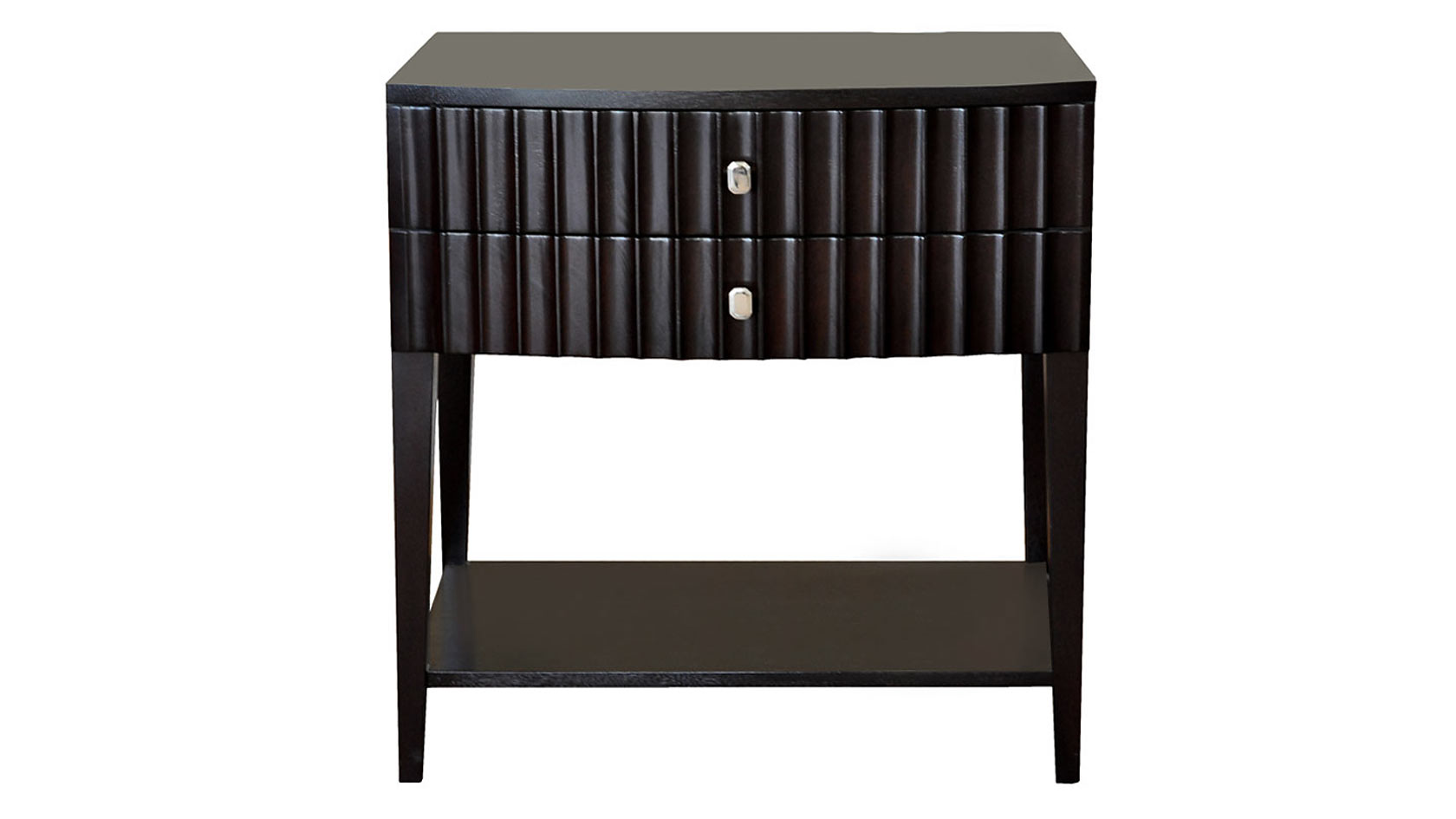 lexington fluted bedside table