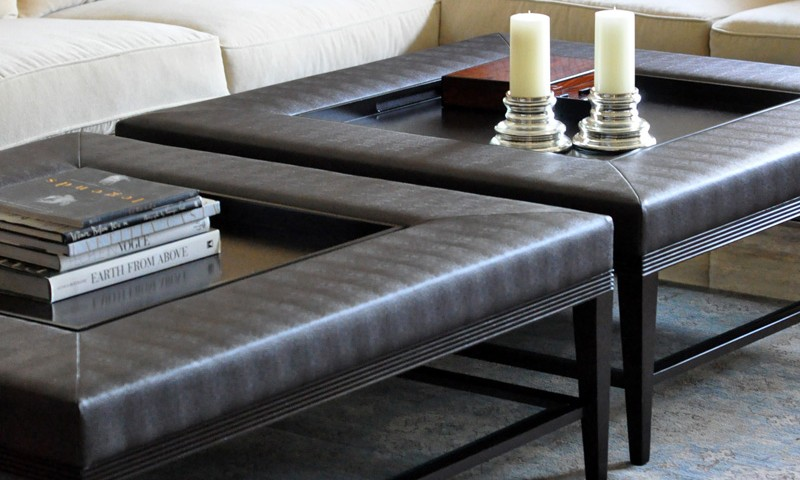 carlisle coffee table ottoman