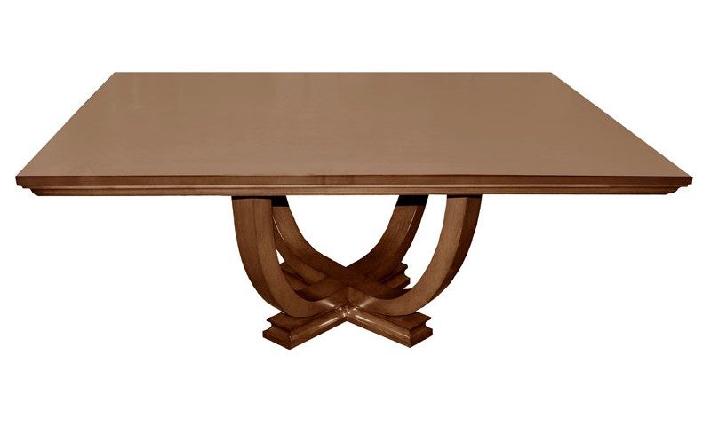 gatsby single pedestal dining table
