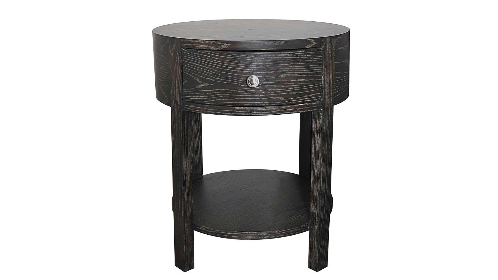 marlborough round bedside table