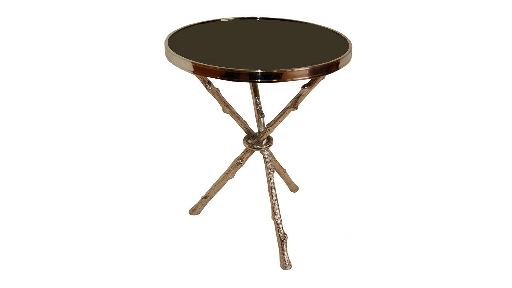 Natura Brass Side Table