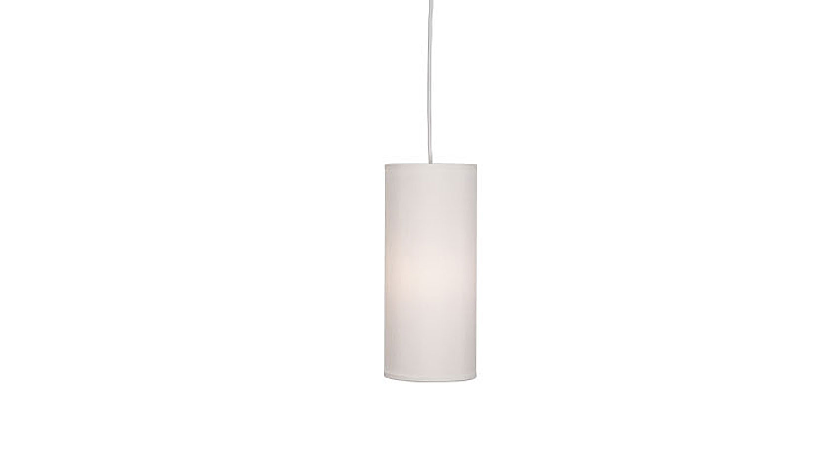 Column Dupioni Small Pendant Shade
