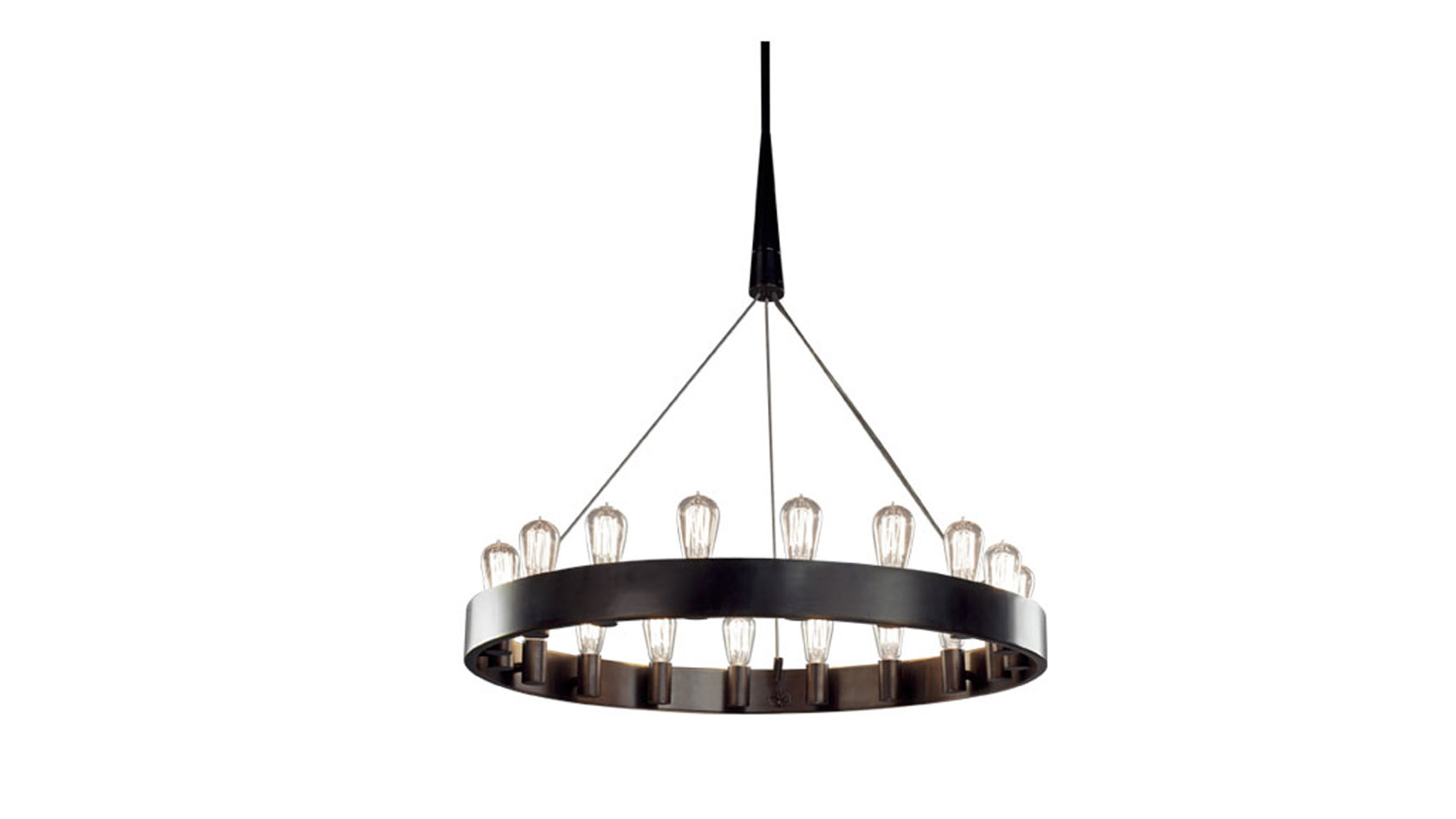 Edison Single Tier Chandelier