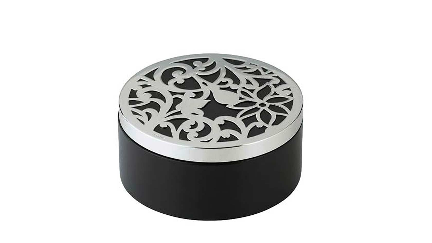 Insolent Silver Plated Desk Box