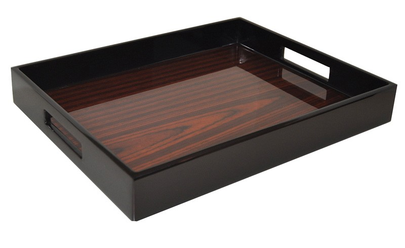 Exotic Veneer Lacquer Tray