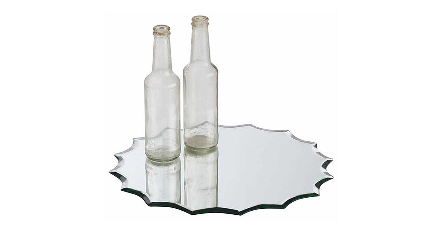 Scalloped Flat Mirror