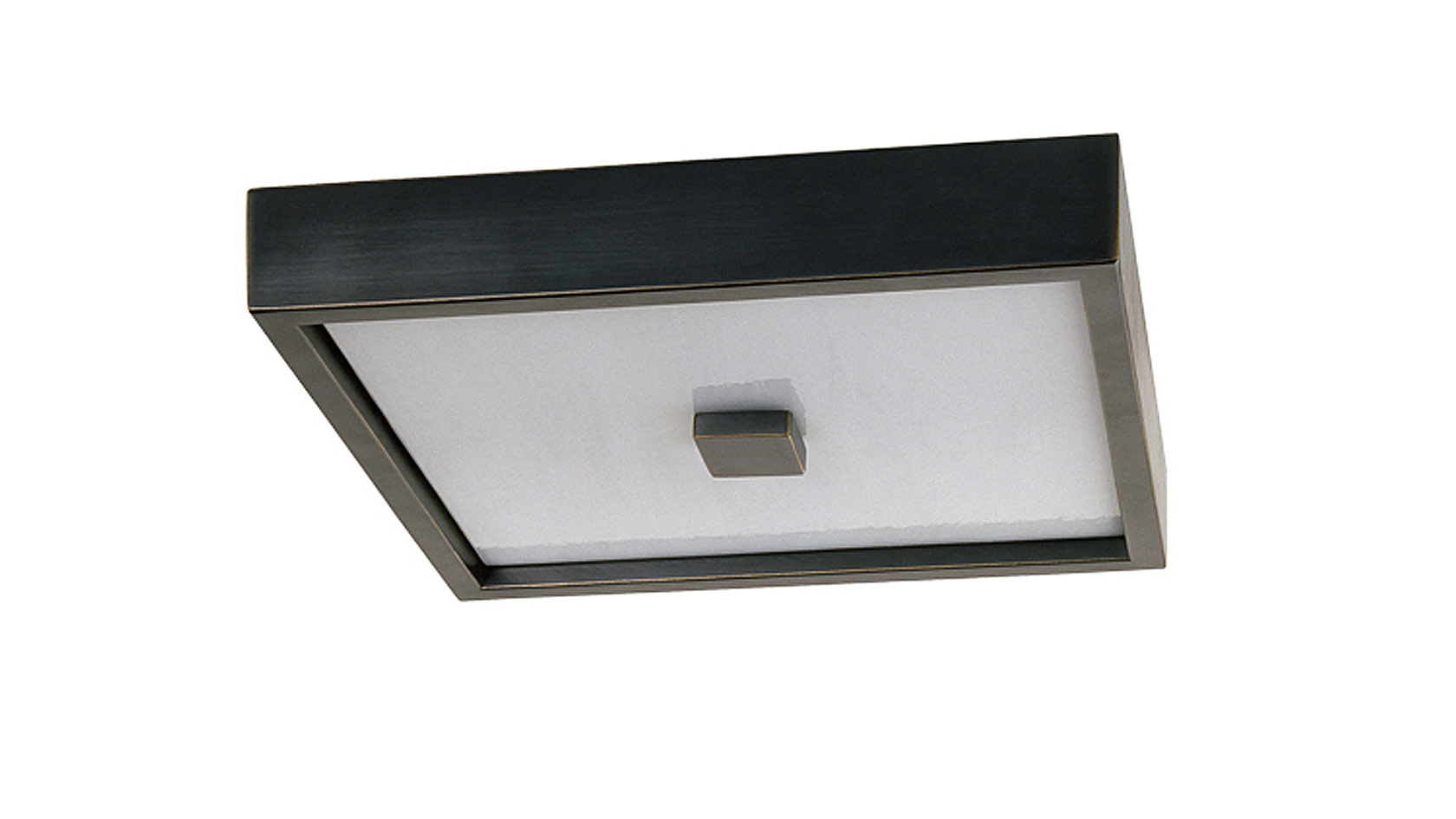 Square in the Square Ceiling Flush Mount