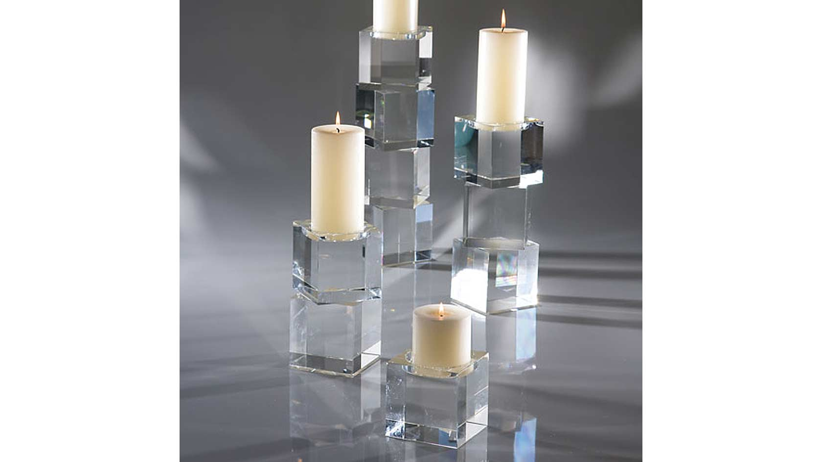 Stacked-Cube-Lead-Crystal-C
