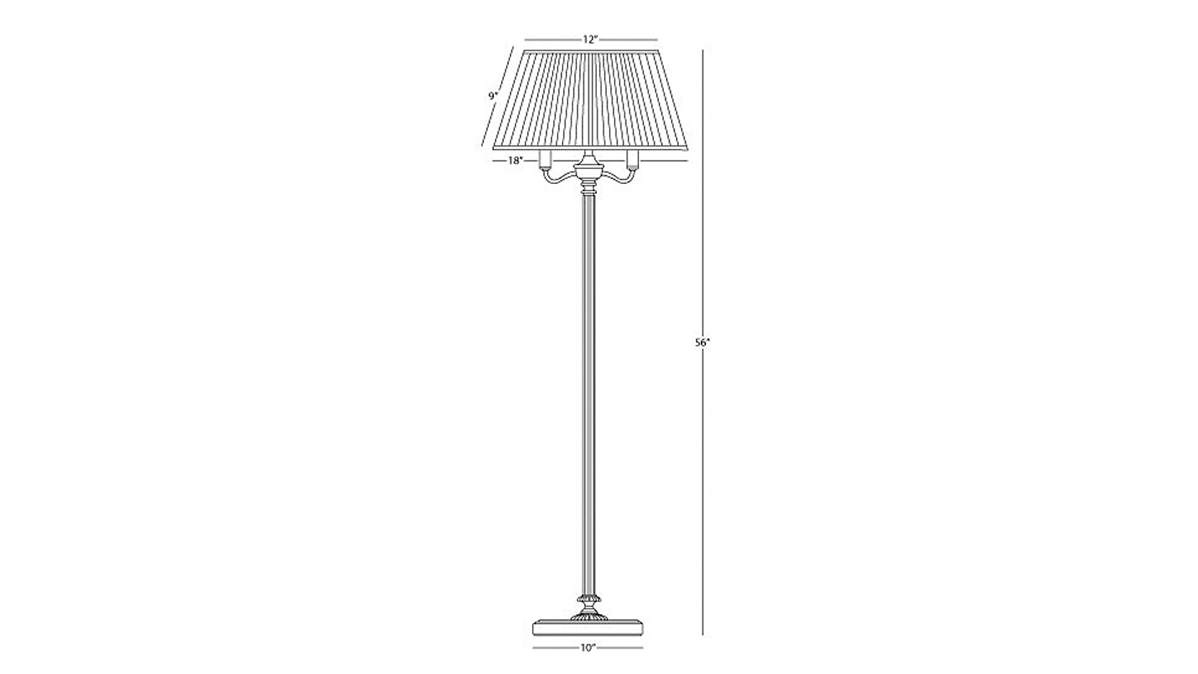 Westmount 5-Way Floor Lamp