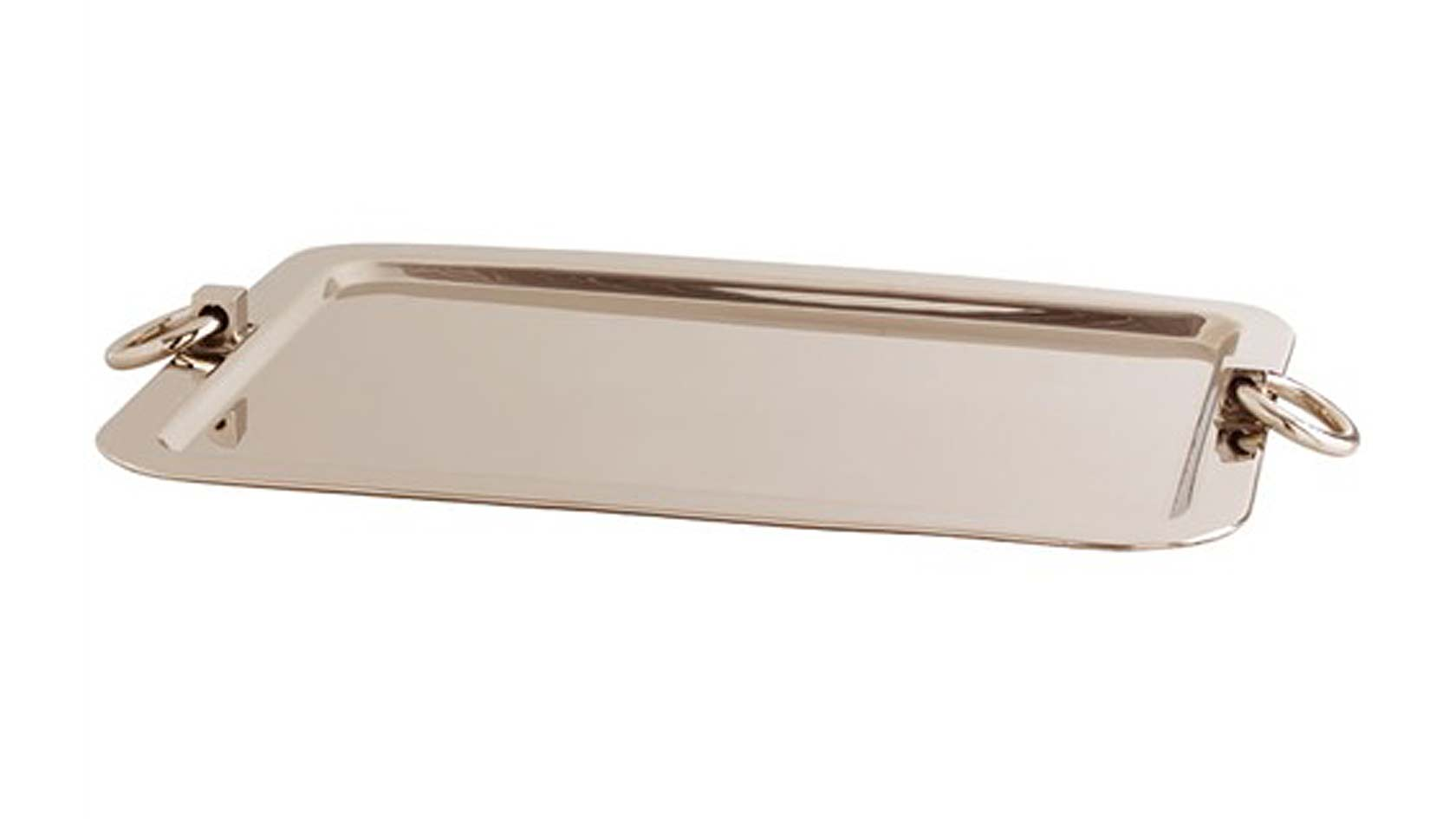Laurier Polished Nickel Tray