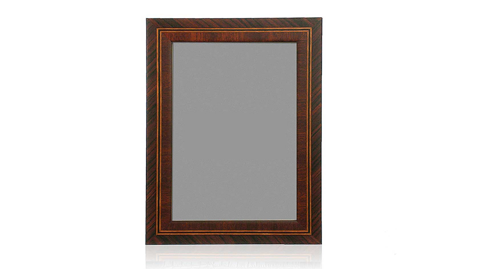 Matte Linear Marquetry Frame