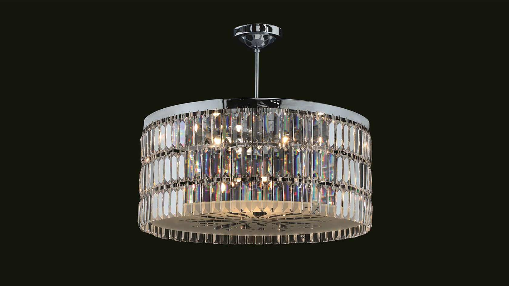 Anna May Crystal Chandelier
