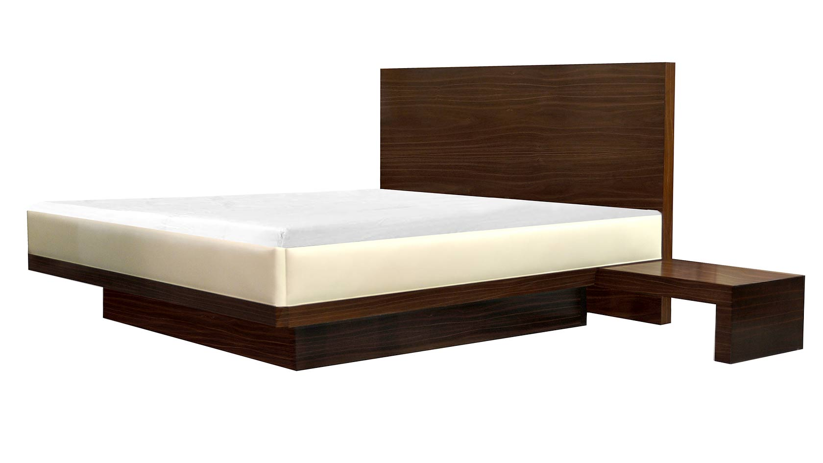 Mondrian Bed & Nightstands
