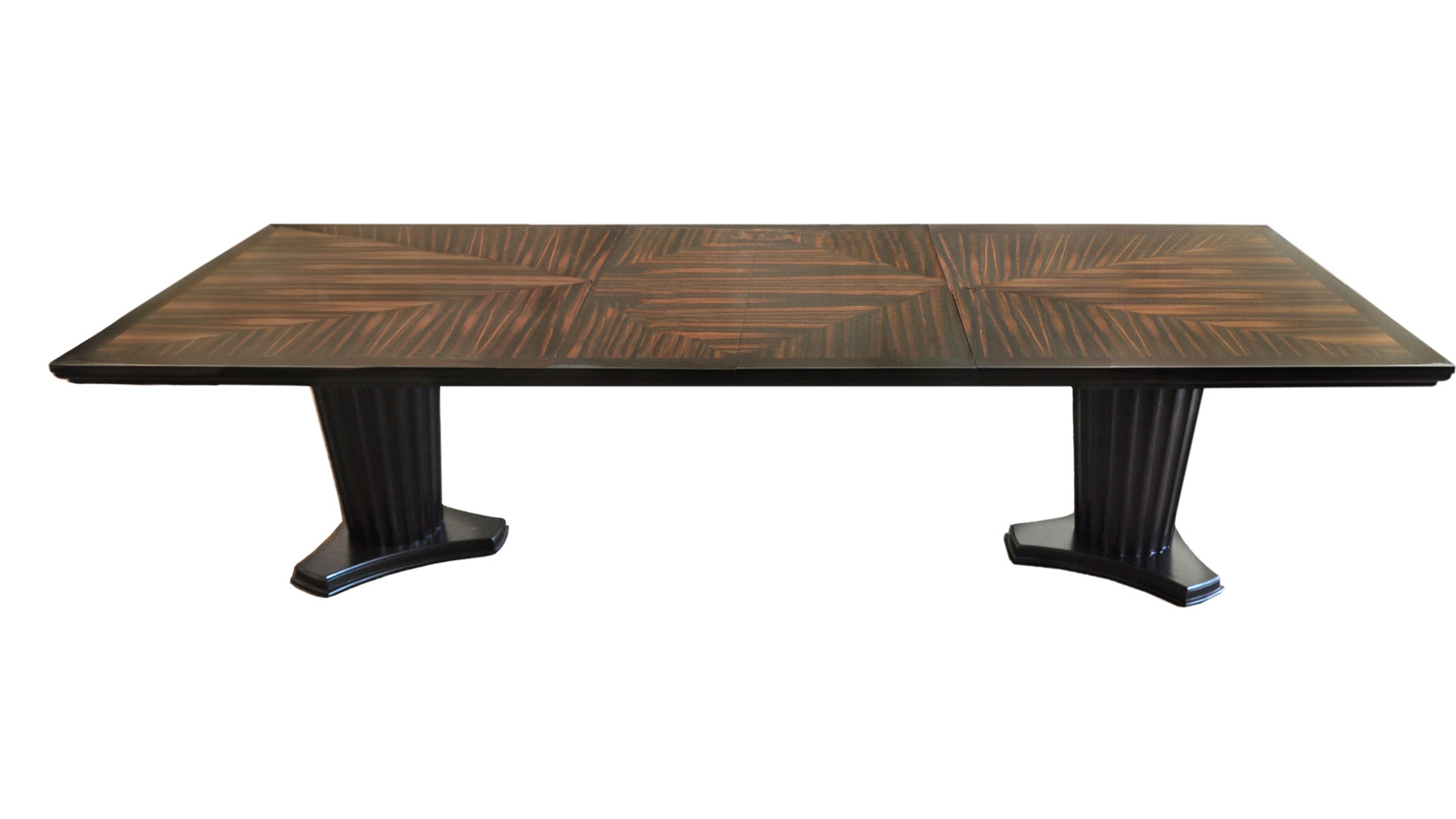 Lexington Dbl Column Dining Table