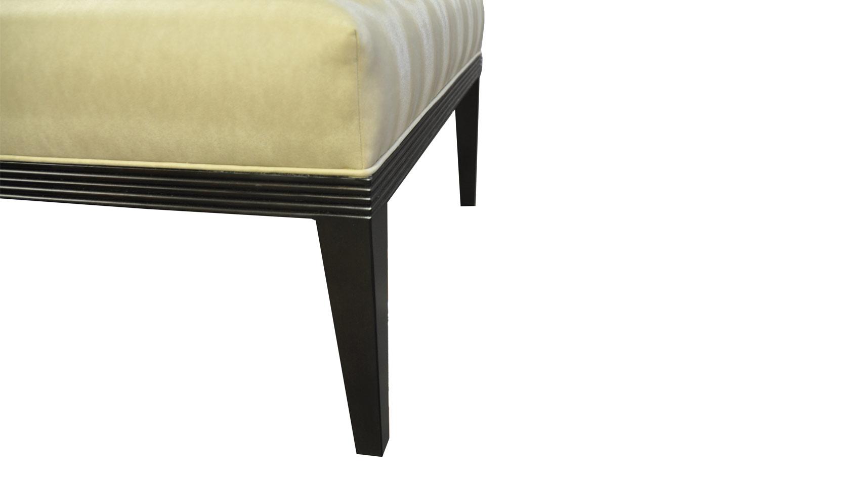 Carlisle All-Upholstered Ottoman