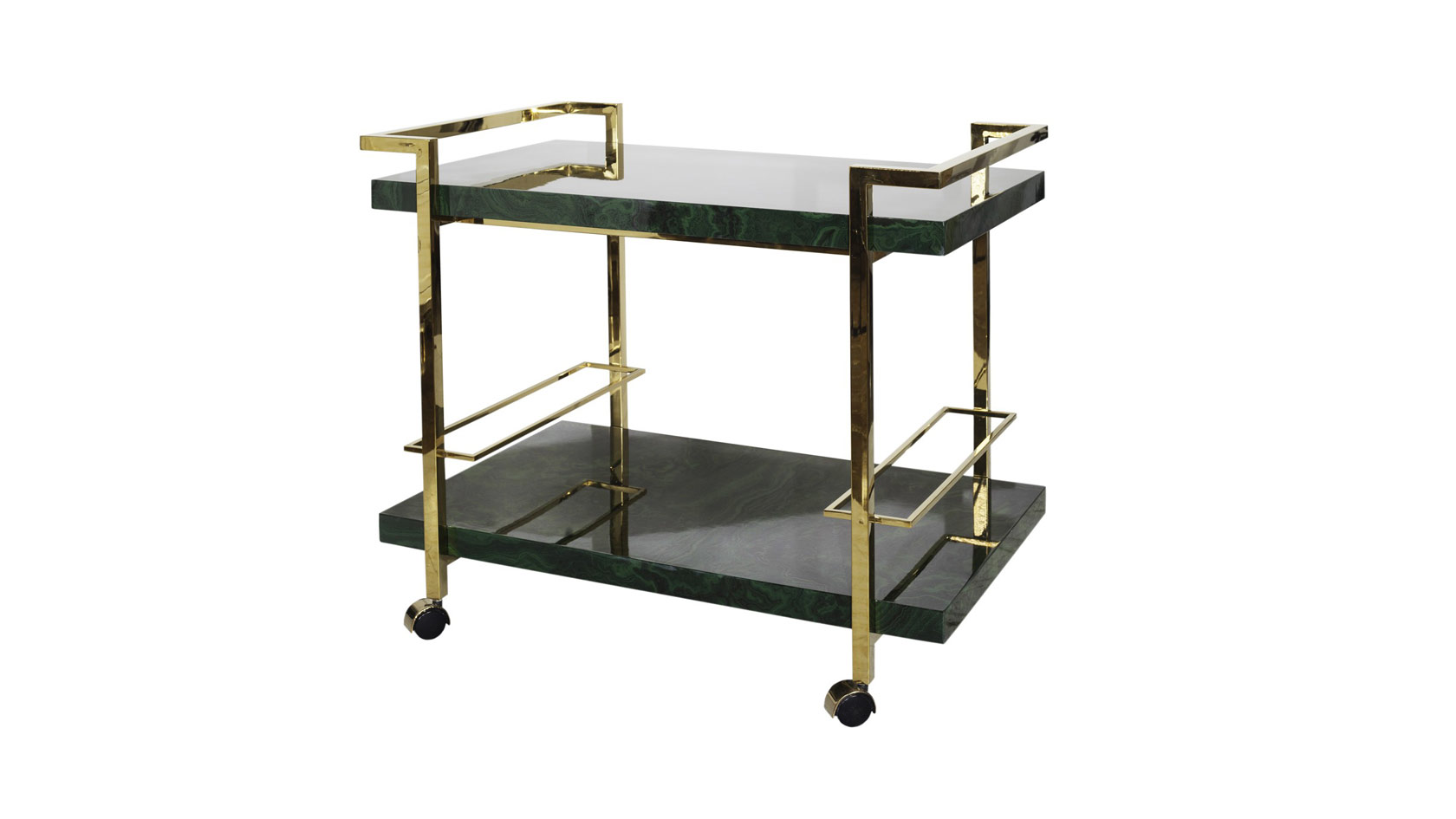 Plateau Bar Cart
