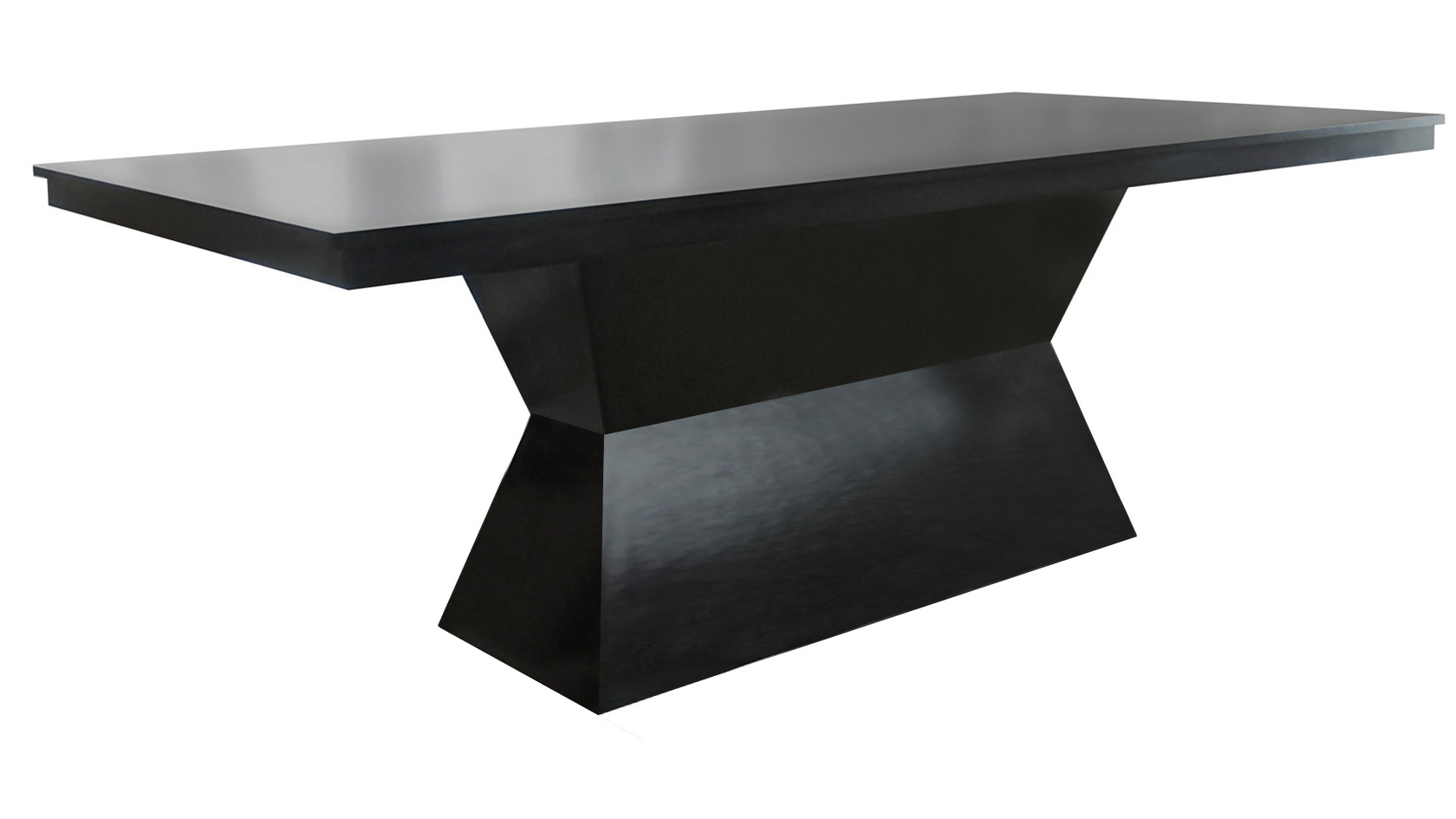 Koi Single Pedestal Dining Table