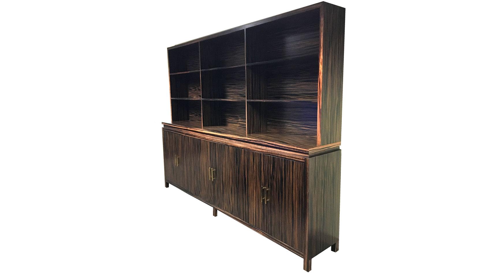 Ming Credenza w. Shelves